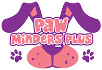 Paw Minders Plus Pet Sitters Logo